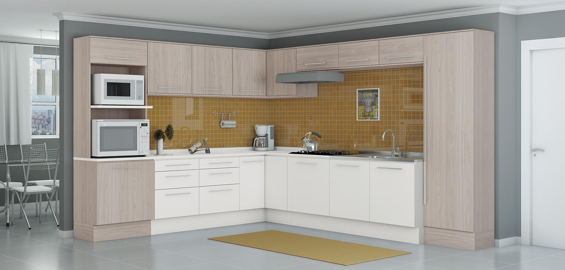 Cozinha Unique Ambiente 01 Kadm Veis