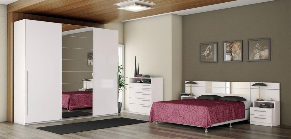 Dormitorio adultos 3 itens kadm veis for Conjunto de dormitorio completo